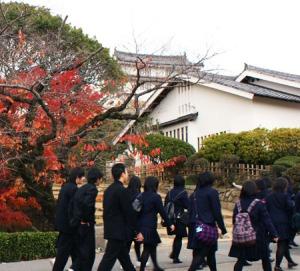 Siswa sekolah menengah di Jepang