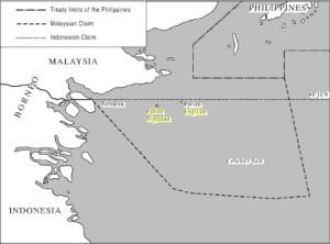 Peta Klaim Sipadan-Ligitan