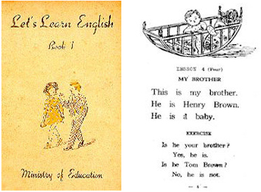 Buku Bahasa Inggris Pasca Perang di Jepang